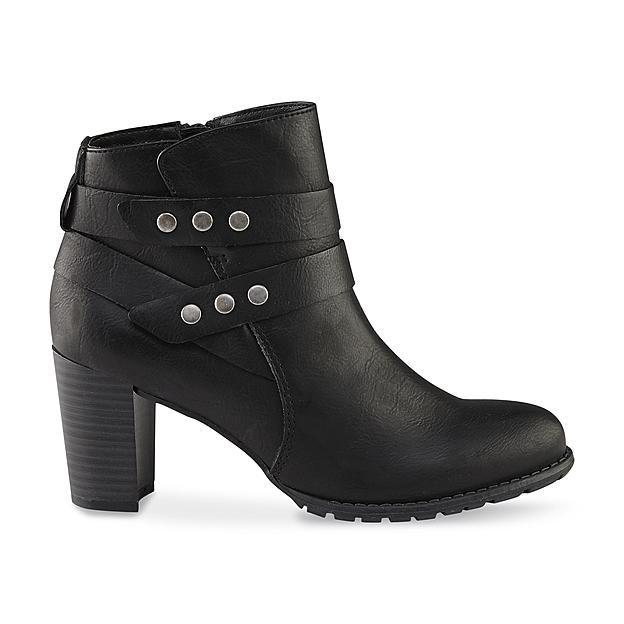 2a3d4854de56 Jaclyn Smith Women s Alicia Black Ankle Bootie 4