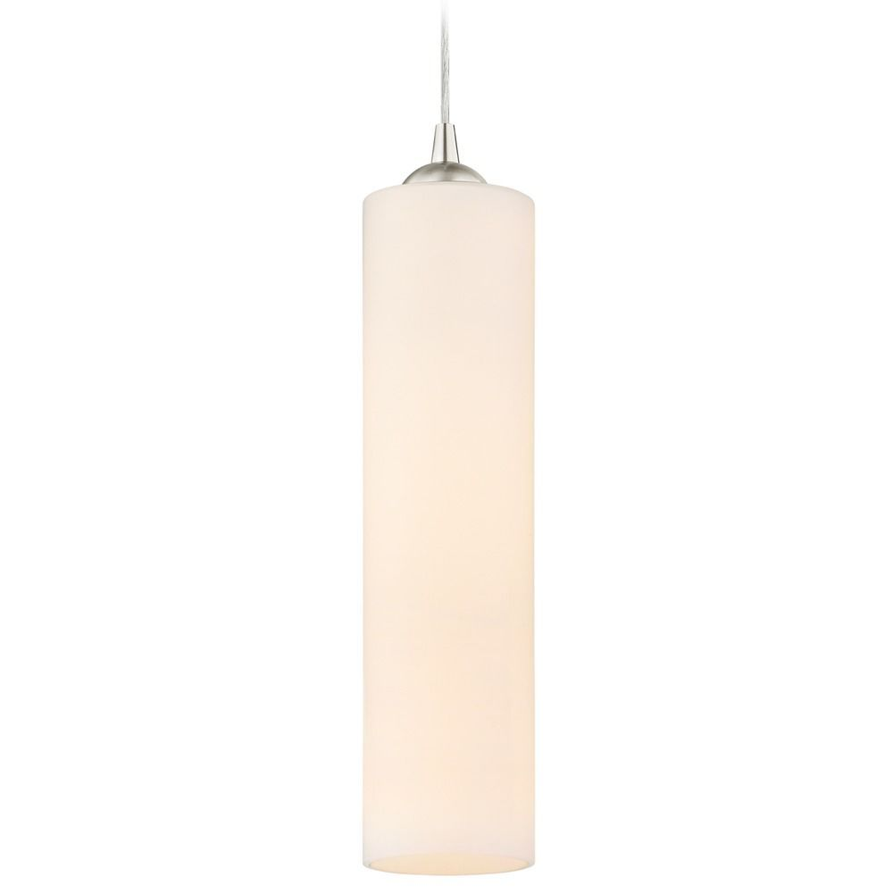 Design Classics Lighting Design Classics Gala Fuse Satin Nickel Mini-Pendant Light 582-09 GL1628C