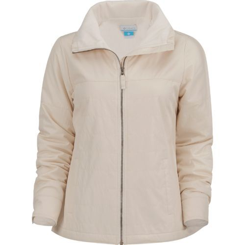 e4b6af0538cf7 Columbia Sportswear Women s Shining Light Full Zip Jacket (White ...