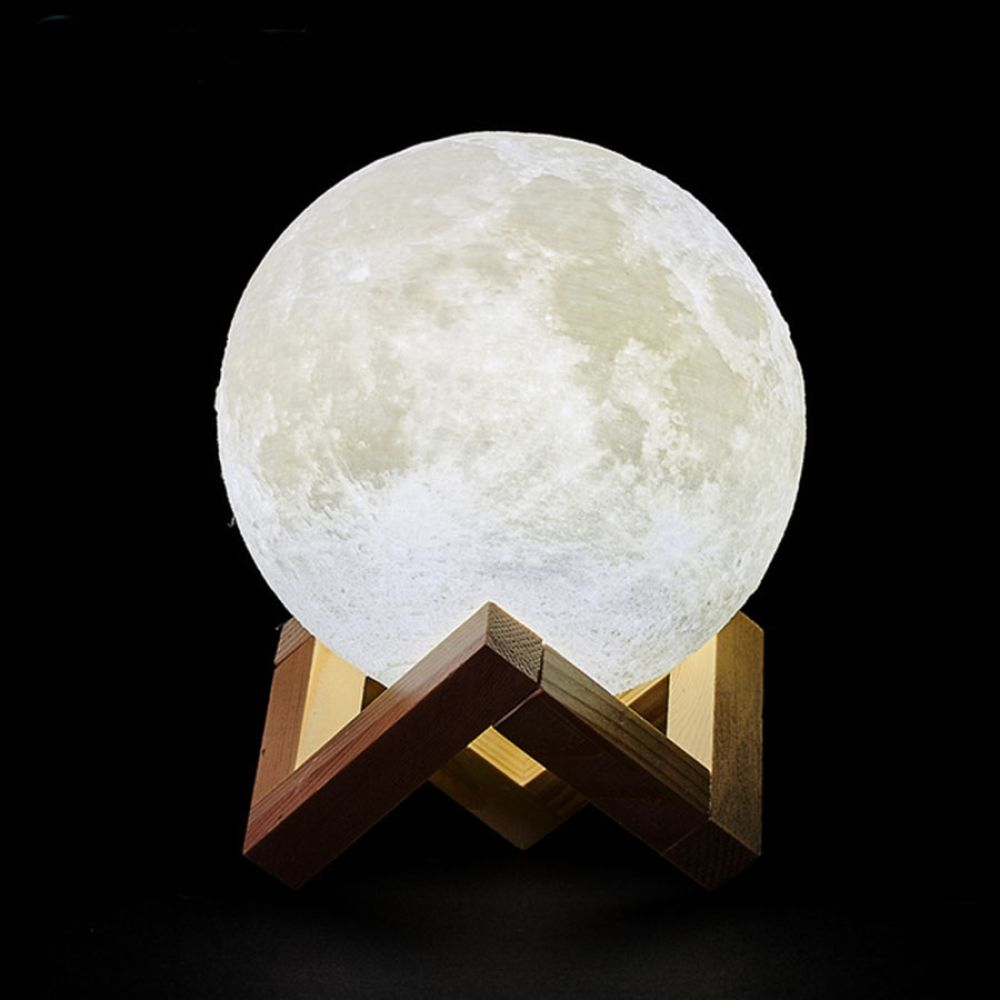 3d Rechargeable Moon Shaped Night Lights In 2020 Night Lamp For Bedroom Moon Light Lamp Led Night Lamp