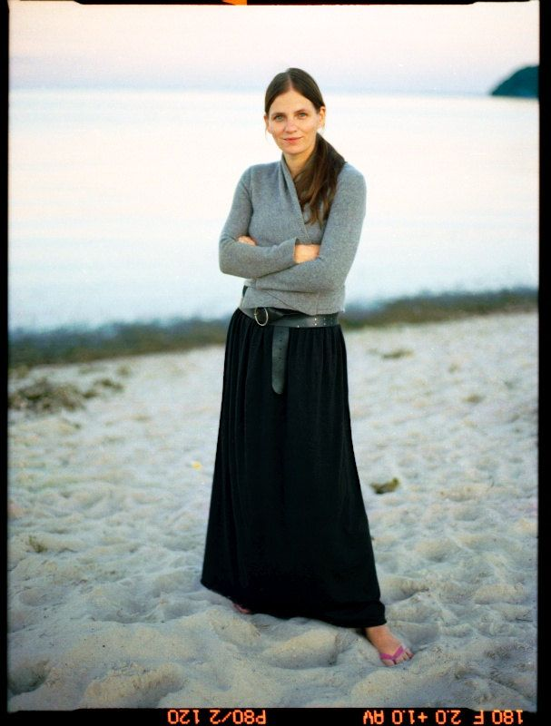 Black maxi summer skirt. $45.00, from Patkas, via Etsy.