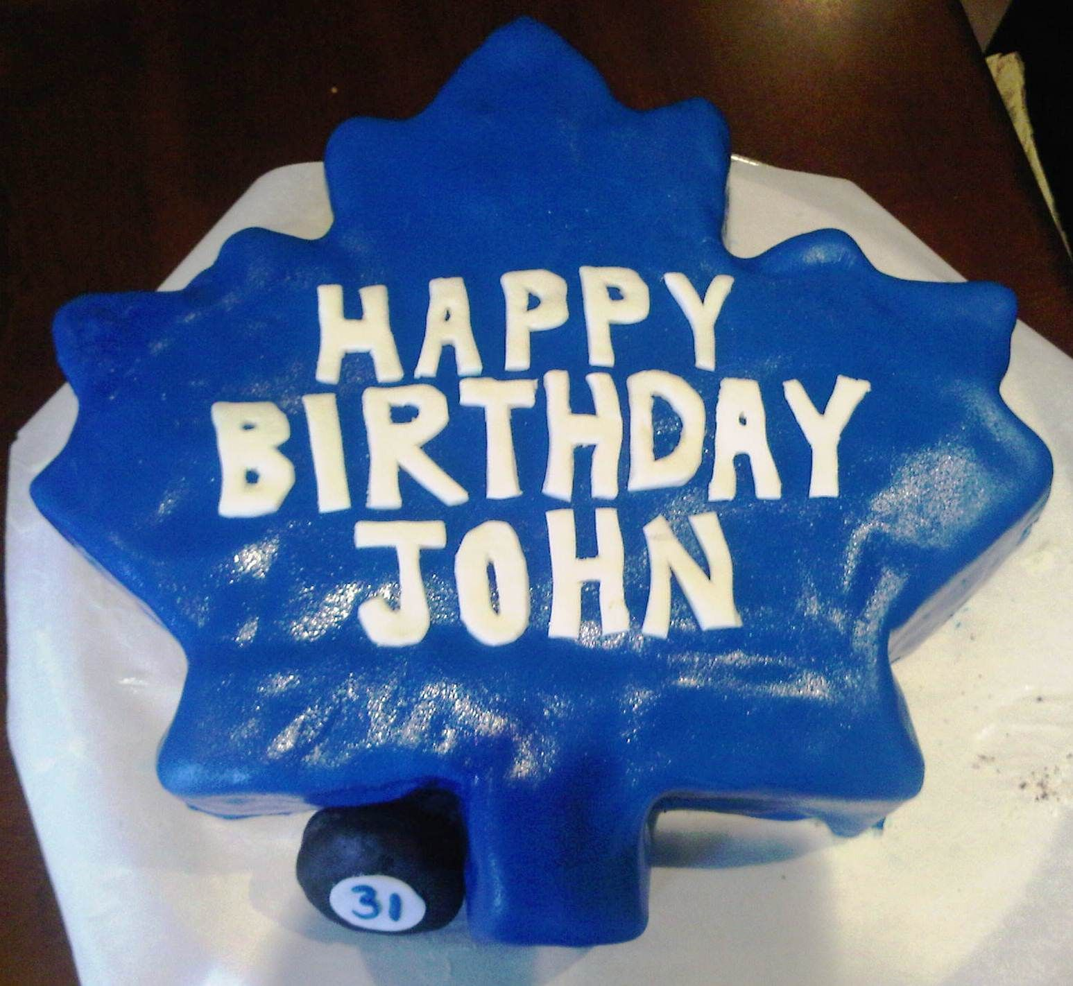 Toronto maple leaf birthday cake party ideas pinterest toronto maple leaf birthday cake bookmarktalkfo Images