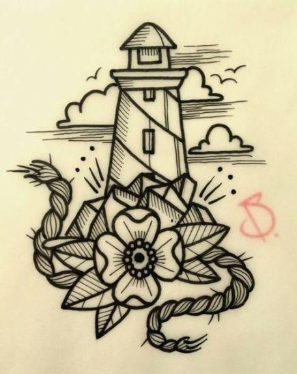 37+ Trendy Tattoo Old School Sea Design