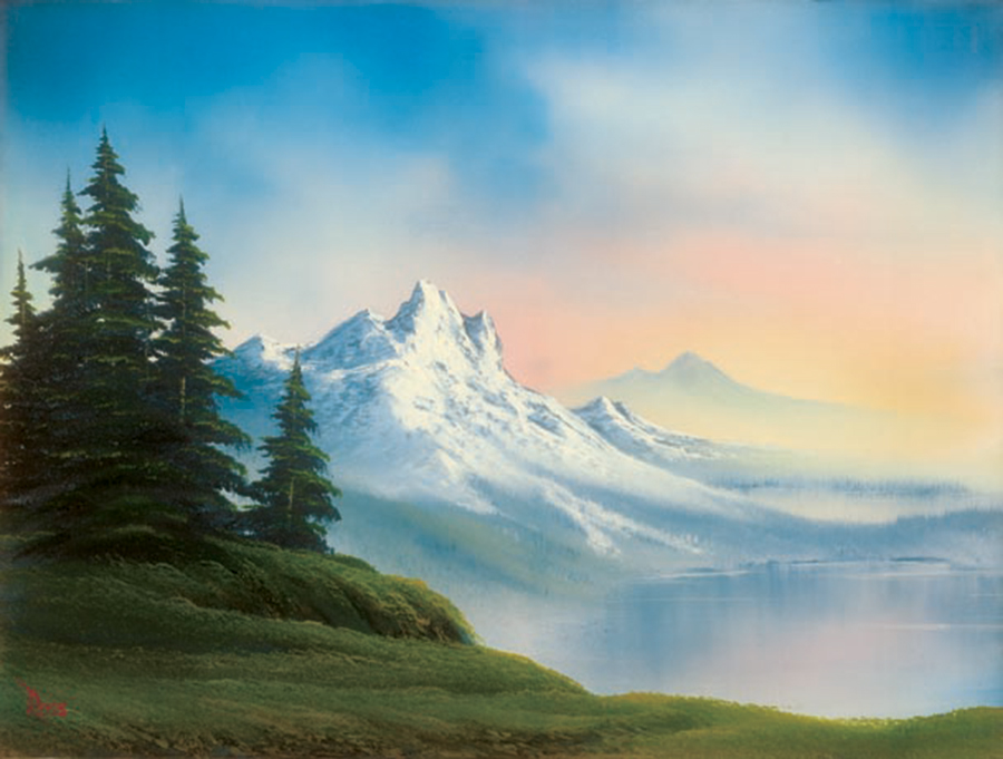 What The Art World Can Learn From Bob Ross Bob Ross Art World Pastel Sky