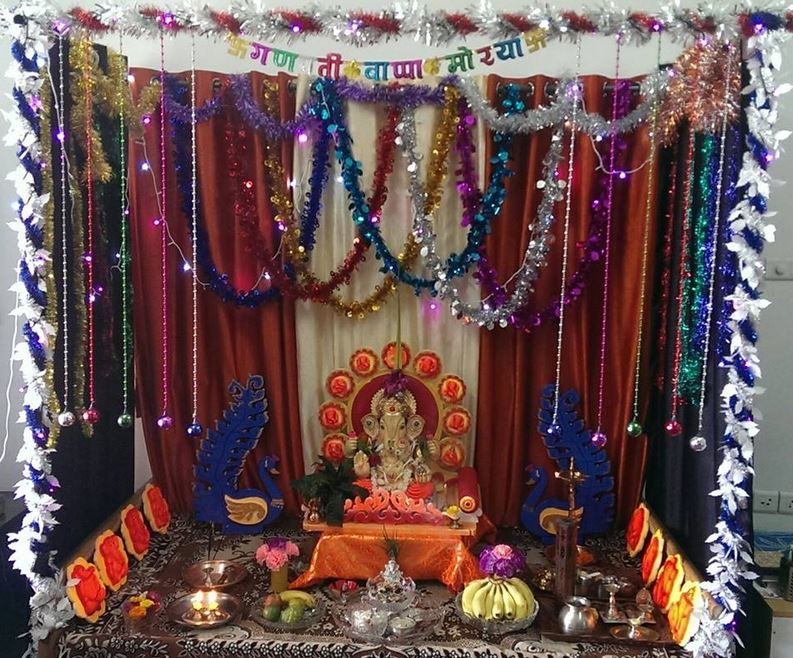 Diy Decoration for Ganpati