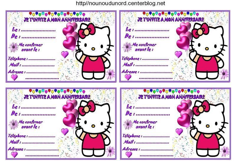 Carte D Anniversaire Hello Kitty Gratuite A Imprimer Inspirational Etiquettes Invitations Hello Kitty En 2020 Anniversaire Hello Kitty Carte Anniversaire Anniversaire