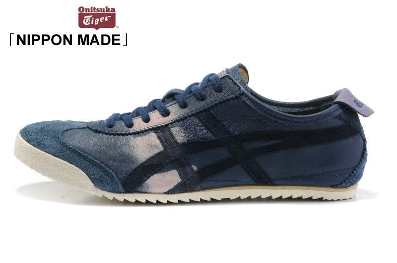 uk availability d8a85 4a67e Onitsuka Tiger Mexico 66 Deluxe Leather Dark/Blue [HG-47260 ...