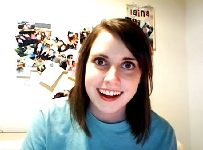 Overly Attached Girlfriend  Blank Memes    Overly