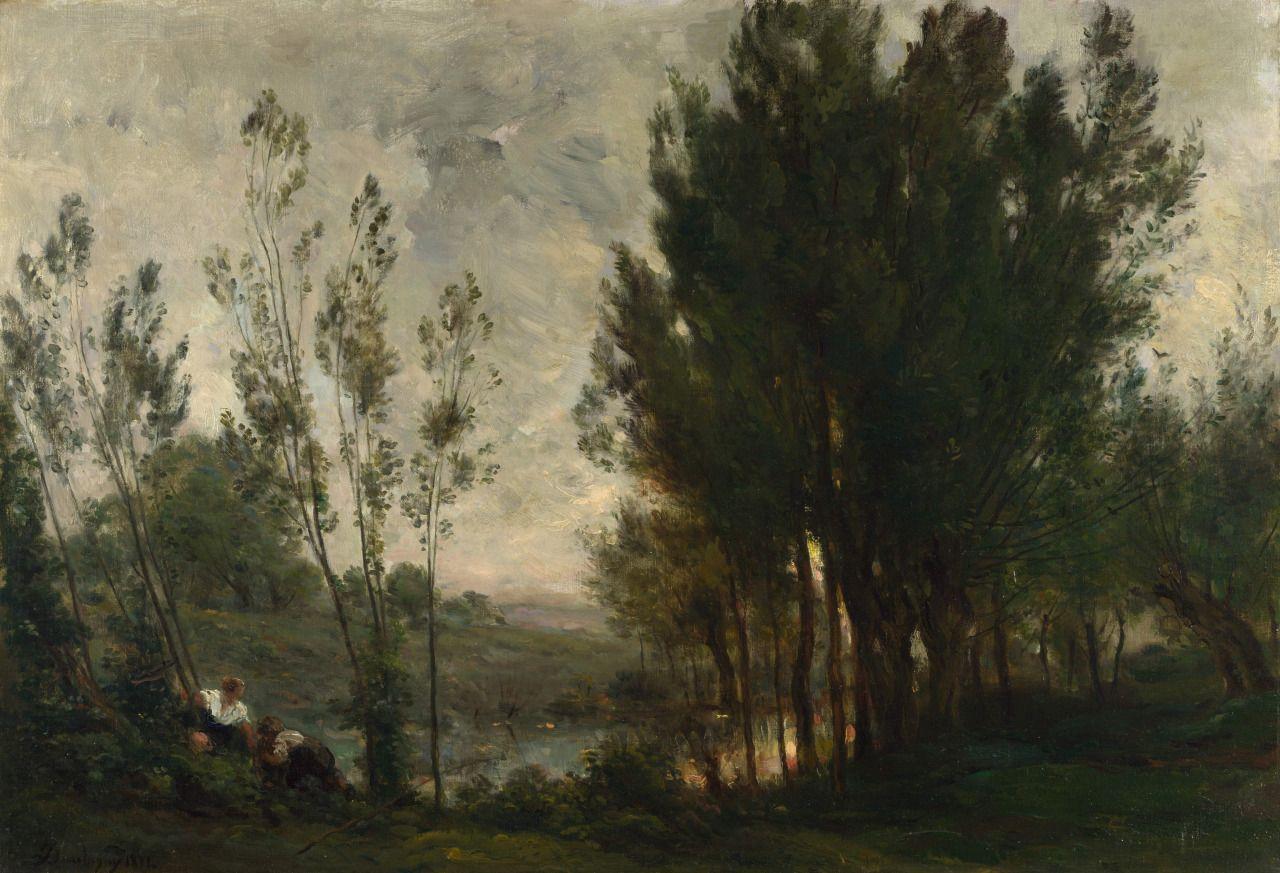 Willows, 1872 or 1874, Charles-François Daubigny