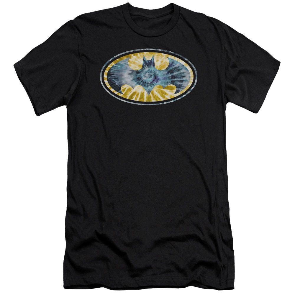 Batman/Tie Dye 3 Short Sleeve Adult T-Shirt 30/1 in