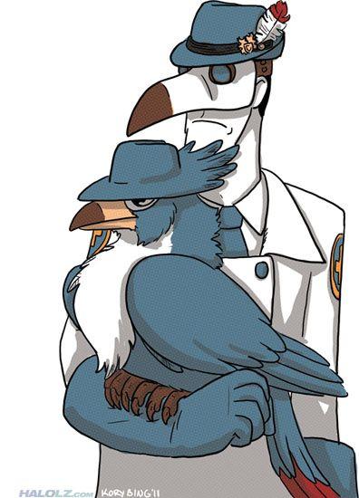 Tf2 Medics Honchkrow Pokemon Team Fortress 2 Team Fortress