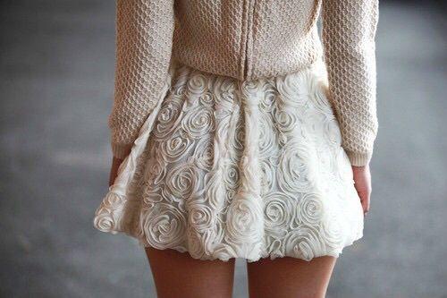 fashion, skirt, and style Bild