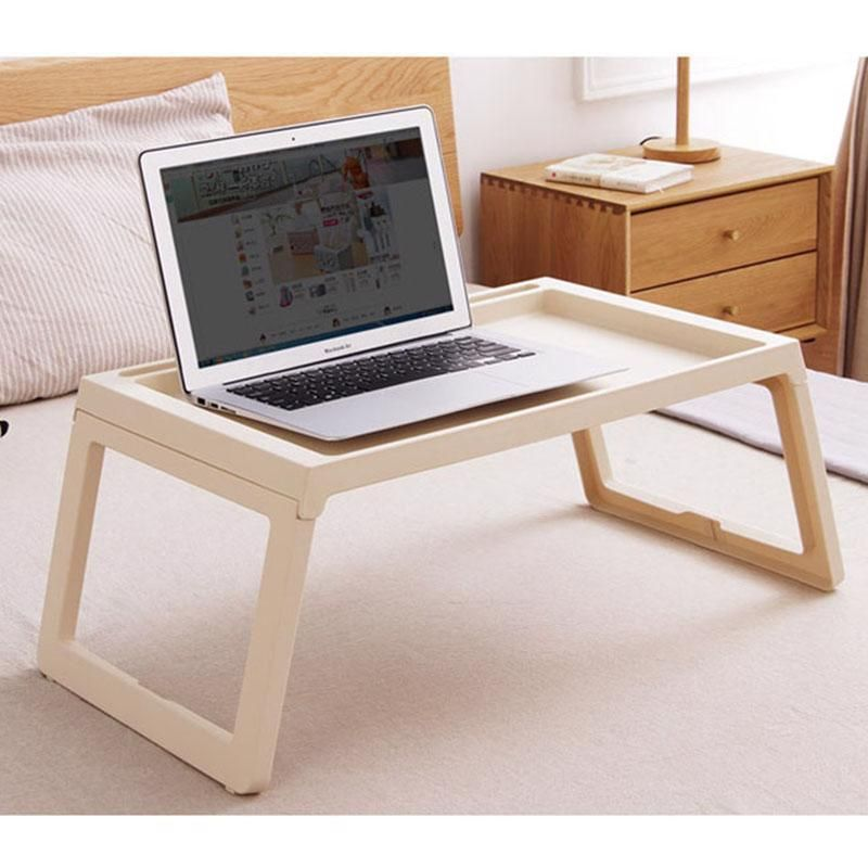 Foldable Laptop Table Desk Mobile Computer Stand Portable Bed Lap Notebook Tray Computers Tablets Networking Laptop Desk Laptop Table Folding Laptop Table