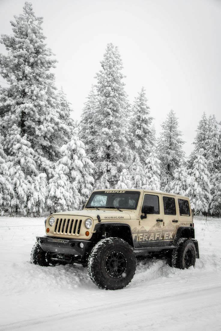 Jeep Teraflex Jeep We Love To Wheel In The Snow Jeep Wrangler Jeep Jeep Wrangler Rubicon