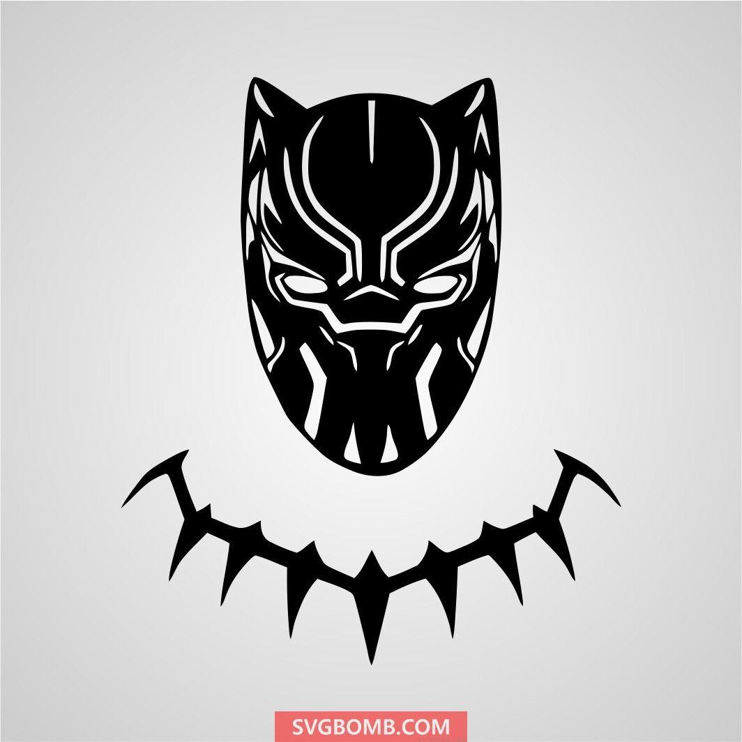 Black Panther Decal Logo SVG File Black panther drawing