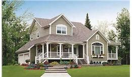 Traditional farmhouse style house plans