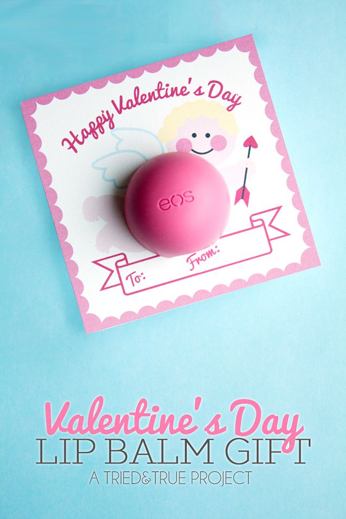Lip Balm Valentine\'s Day Gift | Pinterest | Free printable labels ...