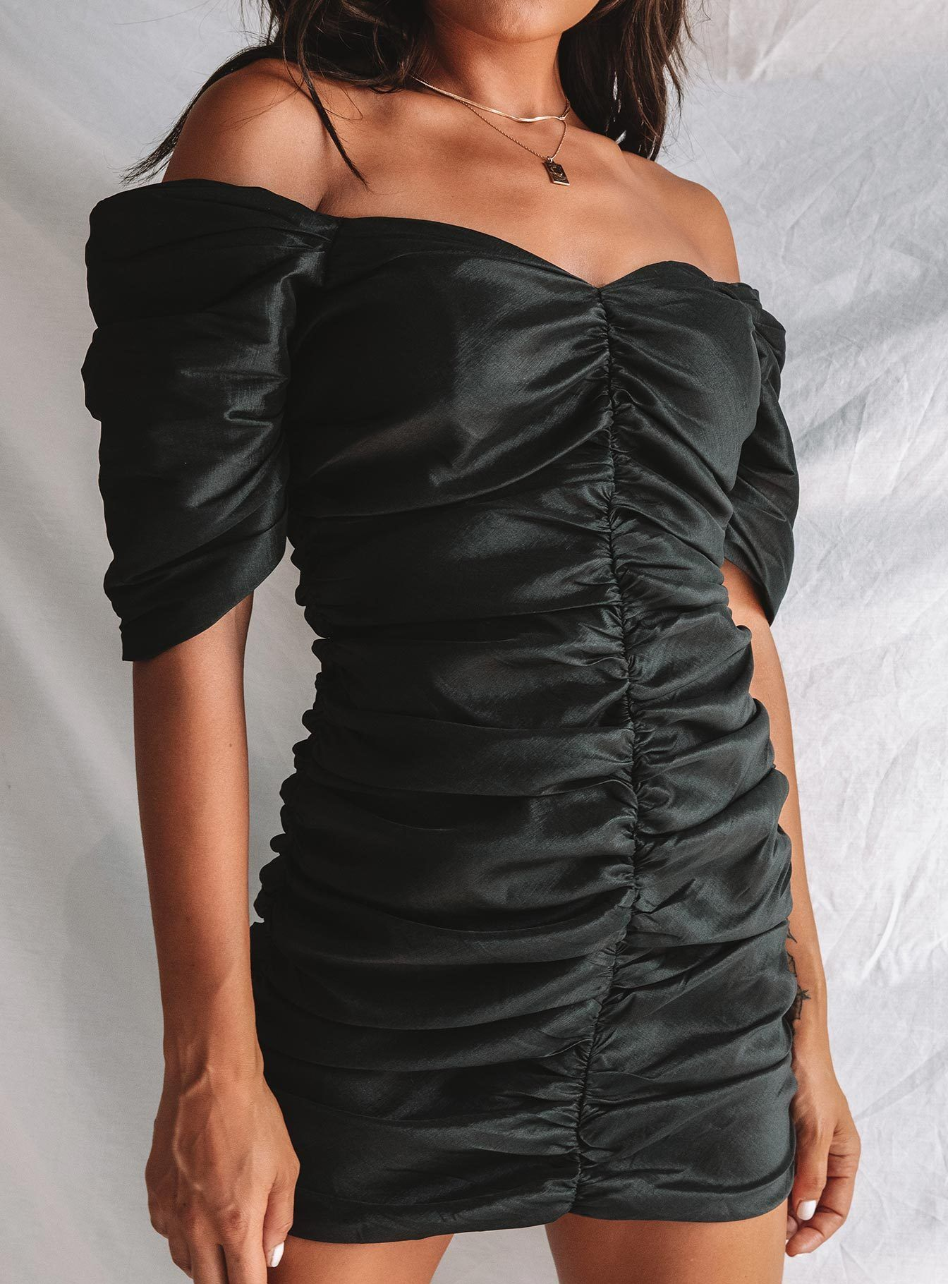 Delpha Mini Dress Mini Dress All Black Dresses Dresses [ 1820 x 1344 Pixel ]