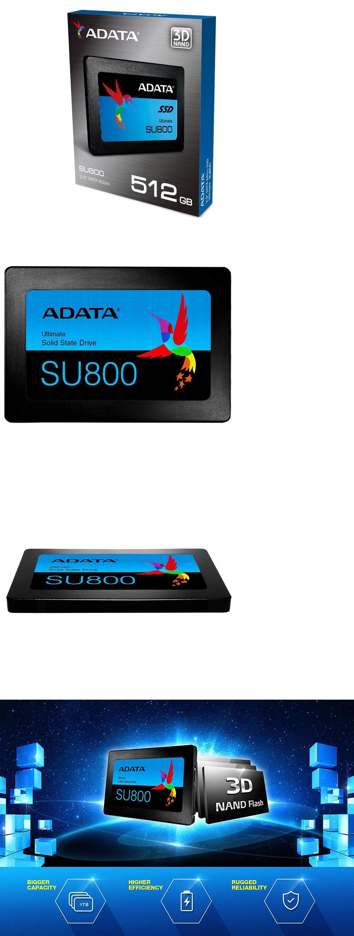 Solid State Drives 175669: Adata 512Gb Ssd Su800 2 5 Sata Iii 3D