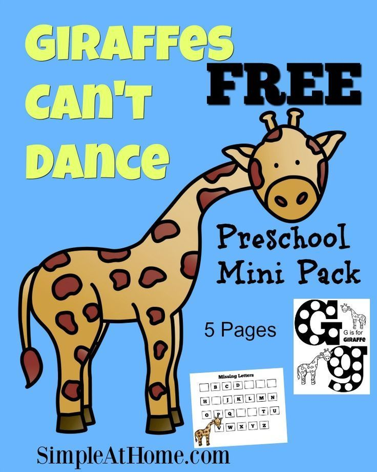 64035625932979727 on Story Time Giraffes Cant Dance