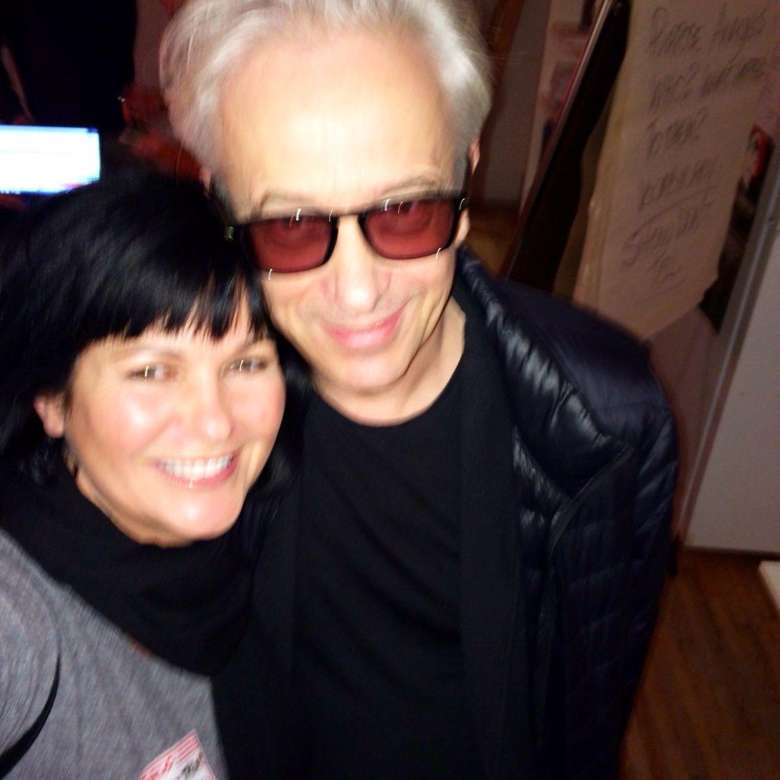 With Founder of Raindance ... Elliot Grove