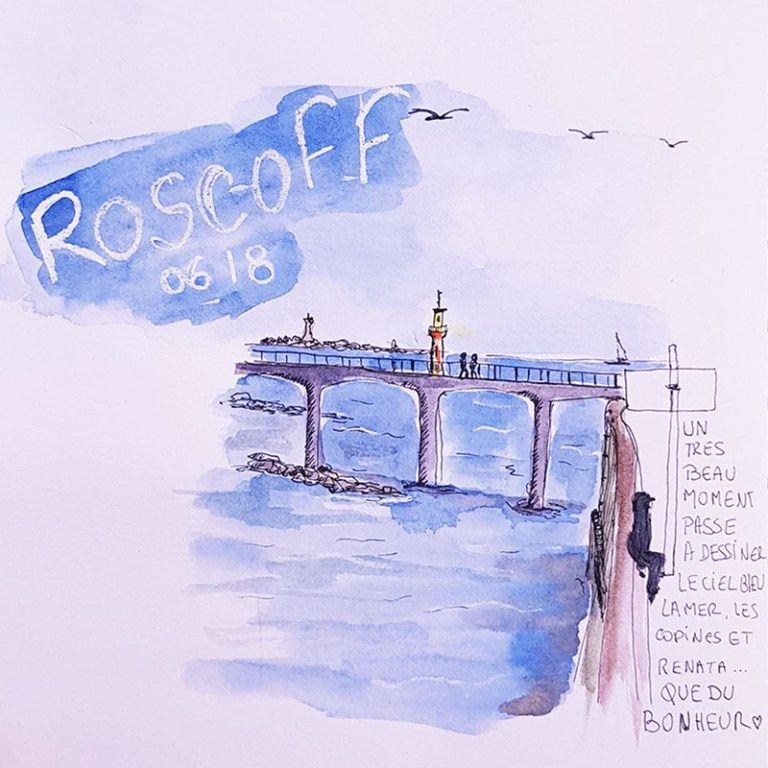 Stage De Dessin Carnet De Voyage Dessiner Roscoff Voyage