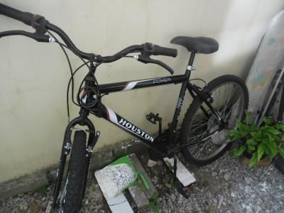 vendo bicicleta houston com marcha vendo produto usado e no estado c$ 260,