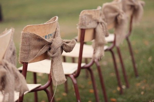 Chairs - Country Rustic Wedding