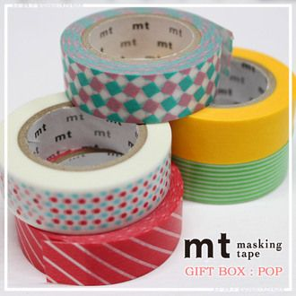Mt masking tapes ギフトボックス pop