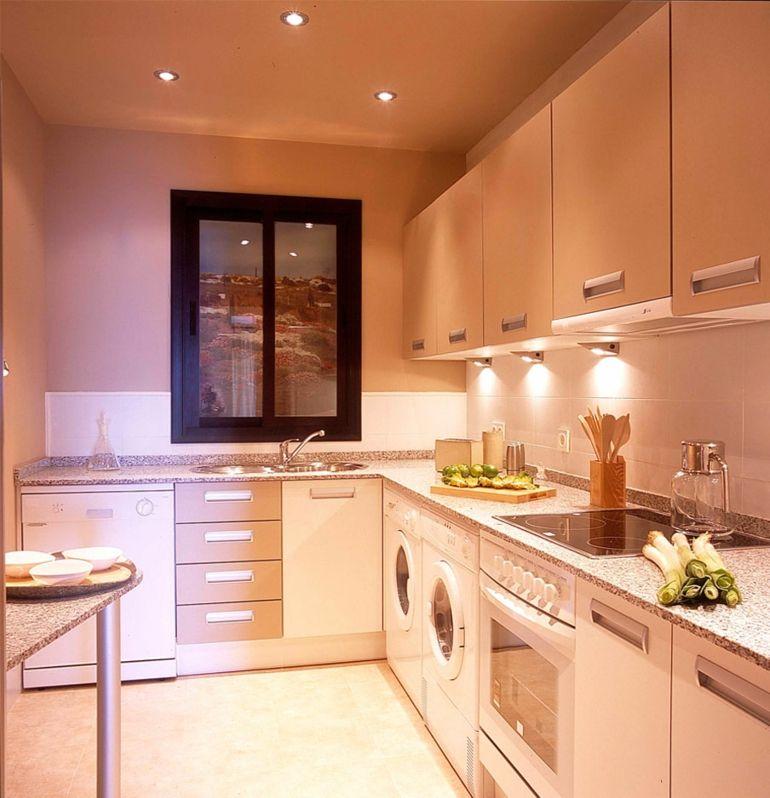 Cocinas pequeñas en forma de L - cincuenta diseños | Diseños de ...