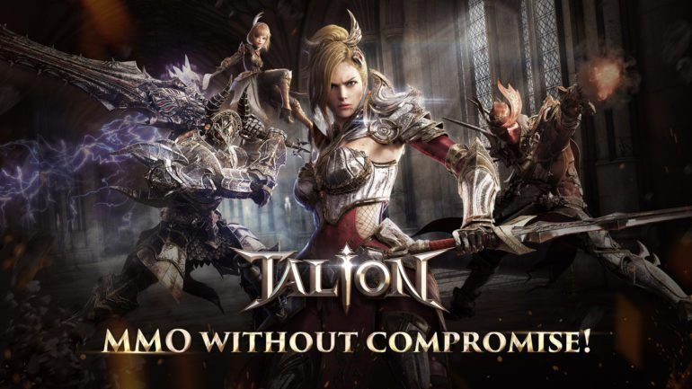 MOBILE MMORPG TALION NOW OPEN FOR PREREGISTRATION (With