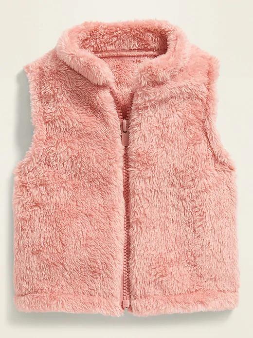 Toddler Boy Warm Vest Winter Autumn Kid Warm Sleeveless Plush Outerwear Coats