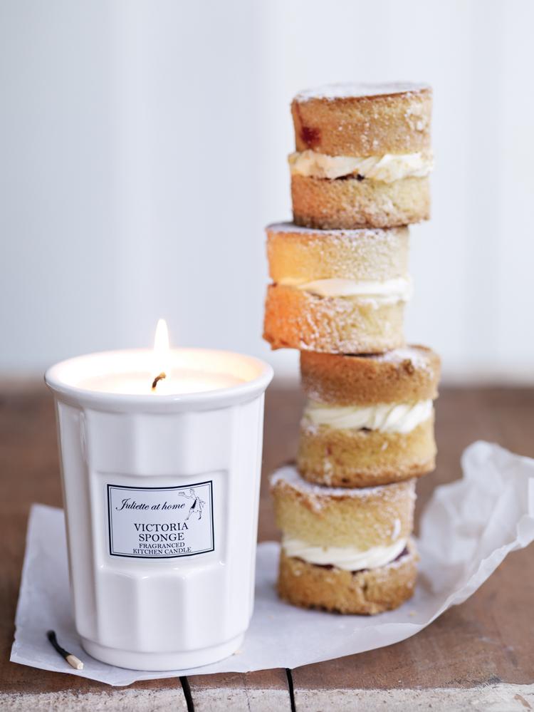 ... fragranced kitchen candles ...