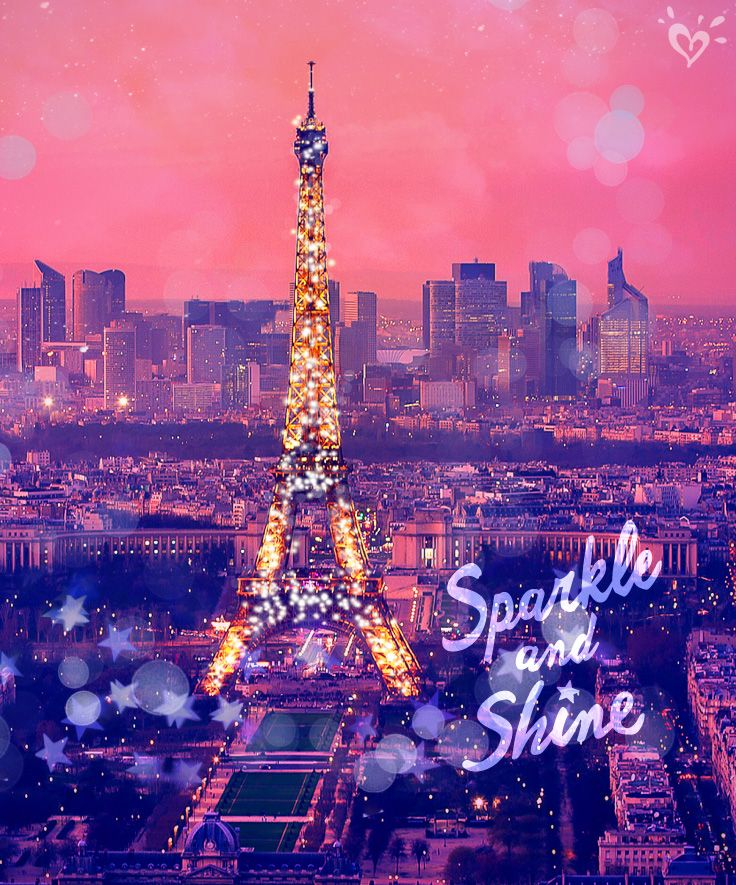 Sparkle As Bright As Paris Lights By Night Hey Does That Count As Poetry Paris Wallpaper Eiffel Tower Paris Lights