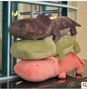 (Buy here: http://appdeal.ru/2r2n ) 75cm 1pcs wholesale price  hot sell Christmas gift color Hippo soft stuffed plush animal toys for just US $31.00