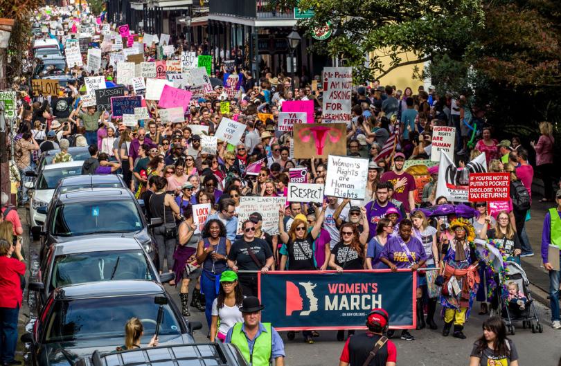Women S March New Orleans Announces Route More For 2018 Womens March New Orleans Smart People