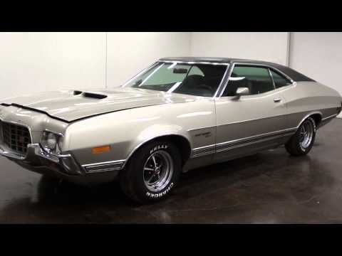 1972 Ford Gran Torino Sport 351 Cobra Jet V8 Ford Classic Cars Vintage Muscle Cars Classic Cars Muscle