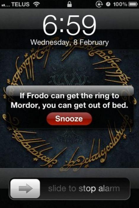 Get up, my precious