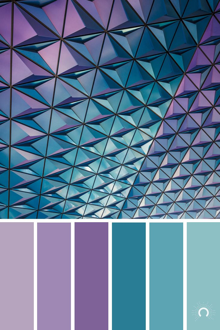 geometric patterned facade ] | color palette | farbpalette | color ...