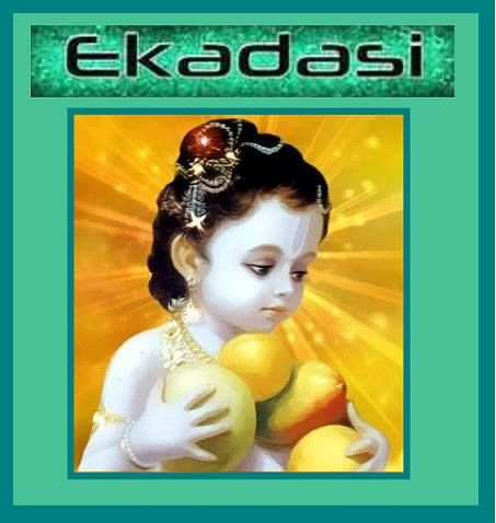 Main rules on Ekadashi: decrease eating by fasting from