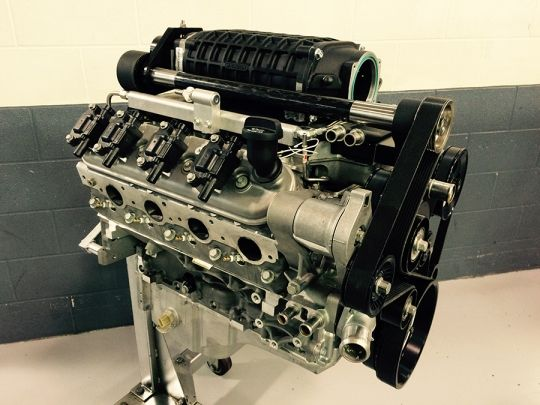 Lingenfelter LSA 417 CID 810 HP 58x 975 Supercharged Crate Engine - best of jegs blueprint crate engines