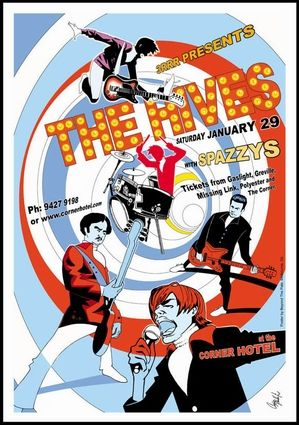 hives concert poster concert posters