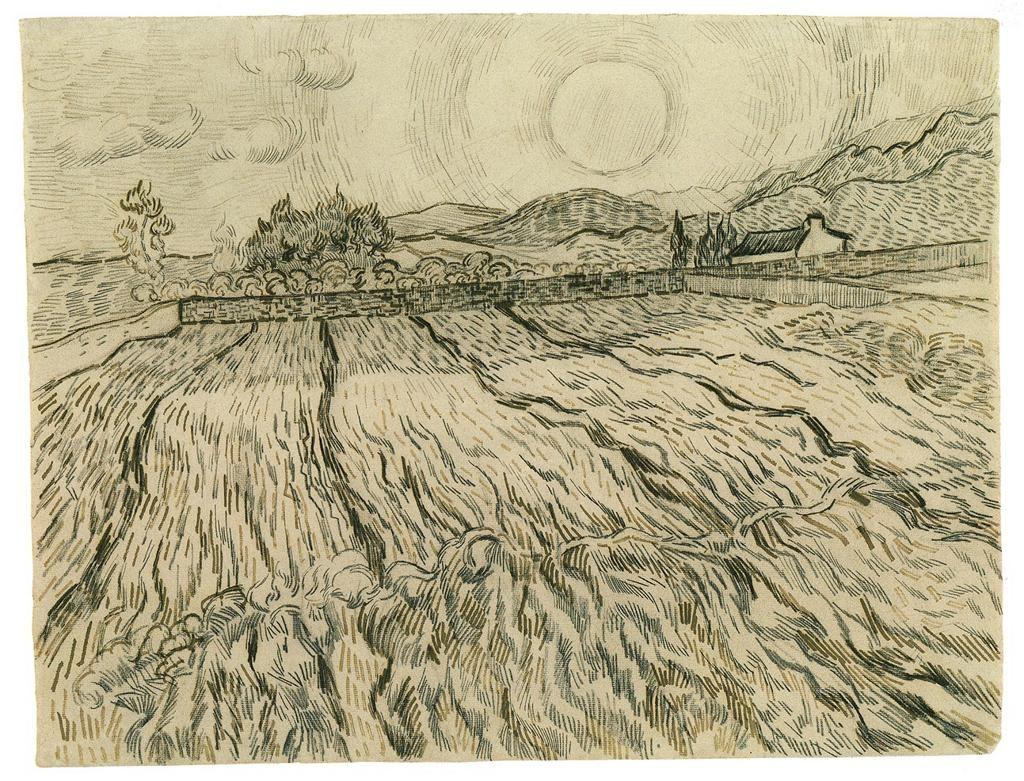 Van Gogh Sketch Iskustva Van Gogh Drawings Van Gogh
