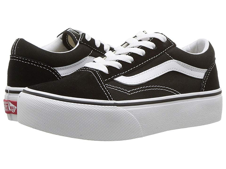 Vans Kids Old Skool Platform (Little KidBig Kid) Girls