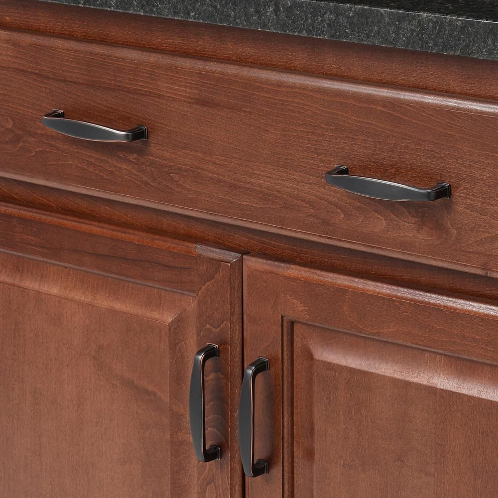 Design House Park Avenue 3 3 4 In 95 25 Mm Center To Center Oil Rubbed Bronze Cabinet Pull 203976 The Home Depot Oil Rubbed Bronze Pulls Bronze Cabinets Furniture Screws