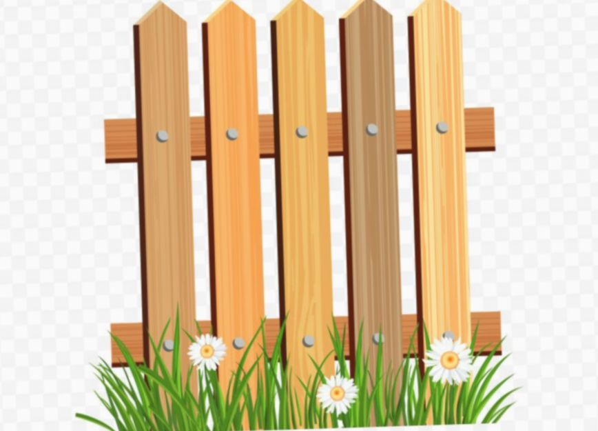 Wooden Fence Clipart Fence Clipart And Digital Gate Scrapbooking
