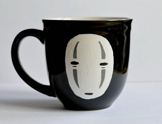 projects idea unique tea cups. No Face Studio Ghibli Mug  Coffee cup Spirited Away Anime Black