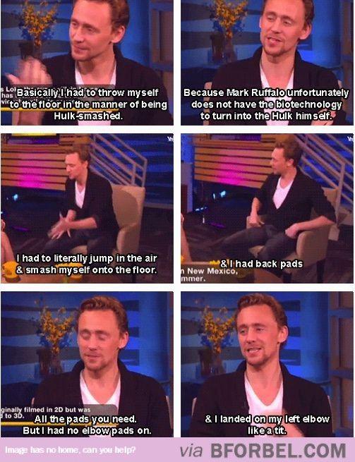 Take Better Care Of Tom Hiddleston Damnit…