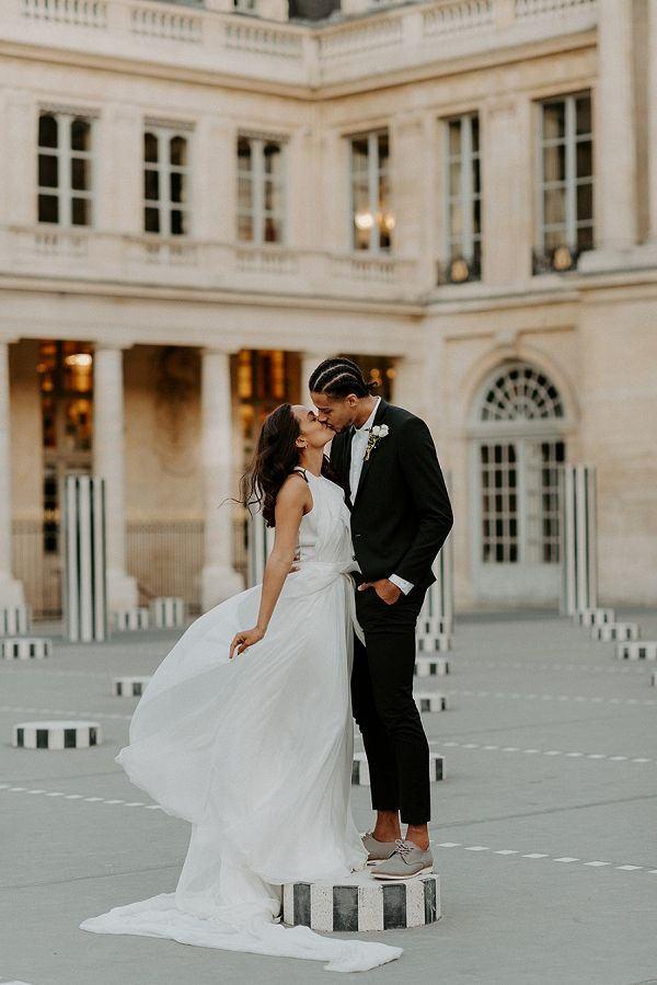 Photo of Carol Hannah Bridal Session in Paris – French Wedding Style