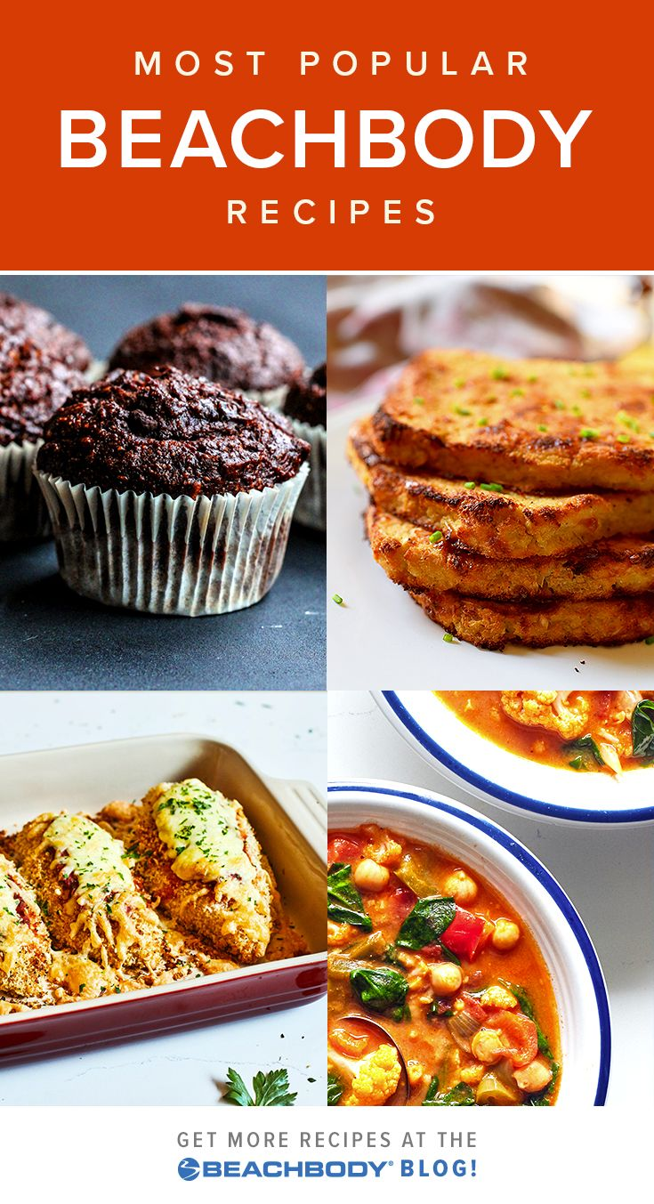 Here are the most popular Beachbody recipes! You can find hundreds of delicious, healthy recipes on the Beachbody Blog, but with so many options, it can be hard to decide where to start. Here are some all time favorites.
